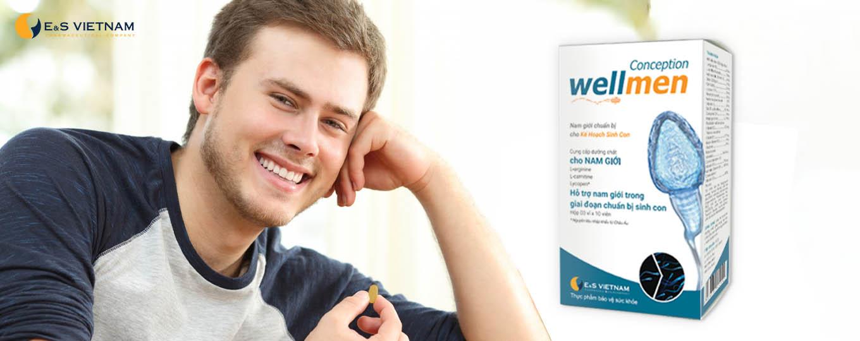 Wellmen Conception dành cho nam giới có kế hoạch sinh con