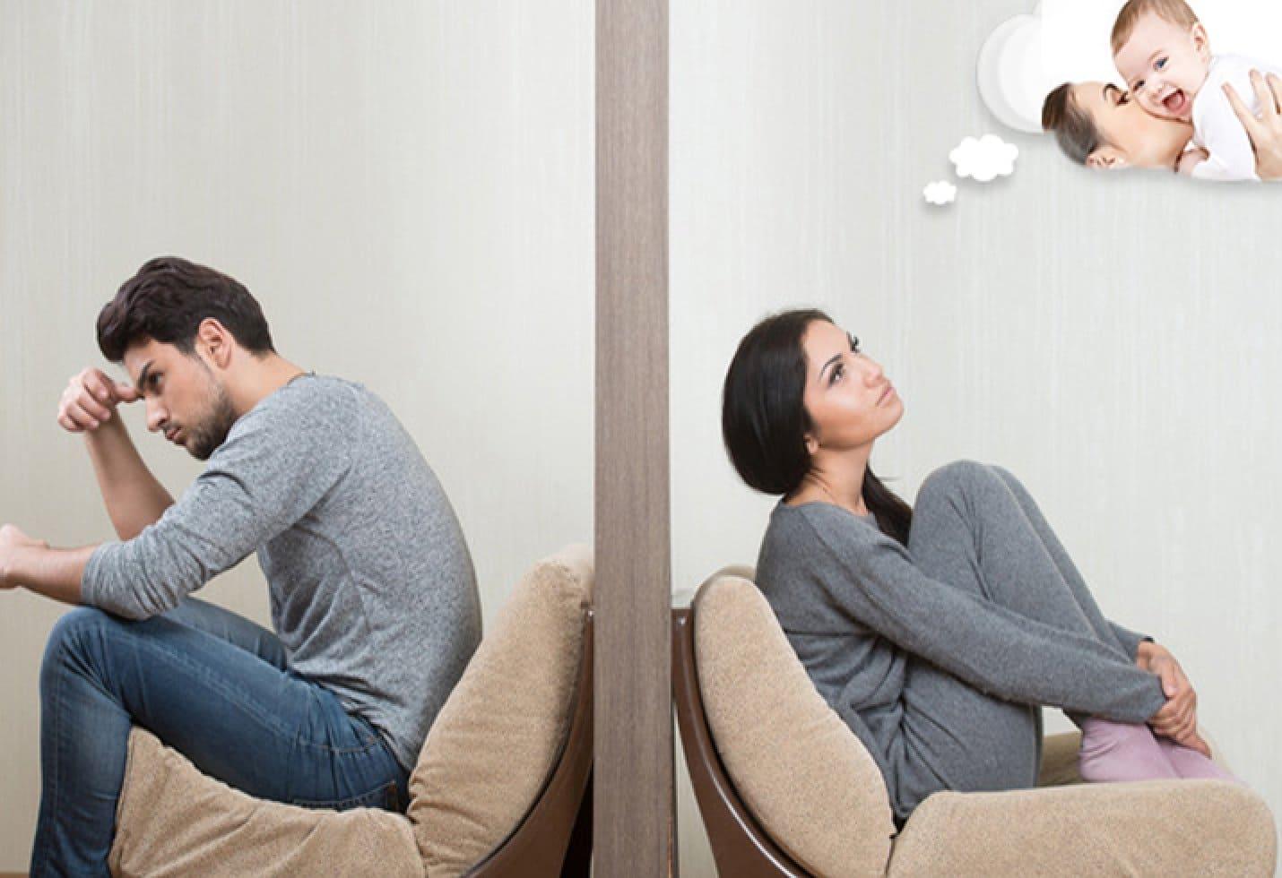 vợ chồng hiếm muộn làm bơm tinh trùng