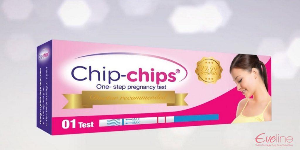 Que thử thai Chip Chip có độ chính xác cao đến 97%