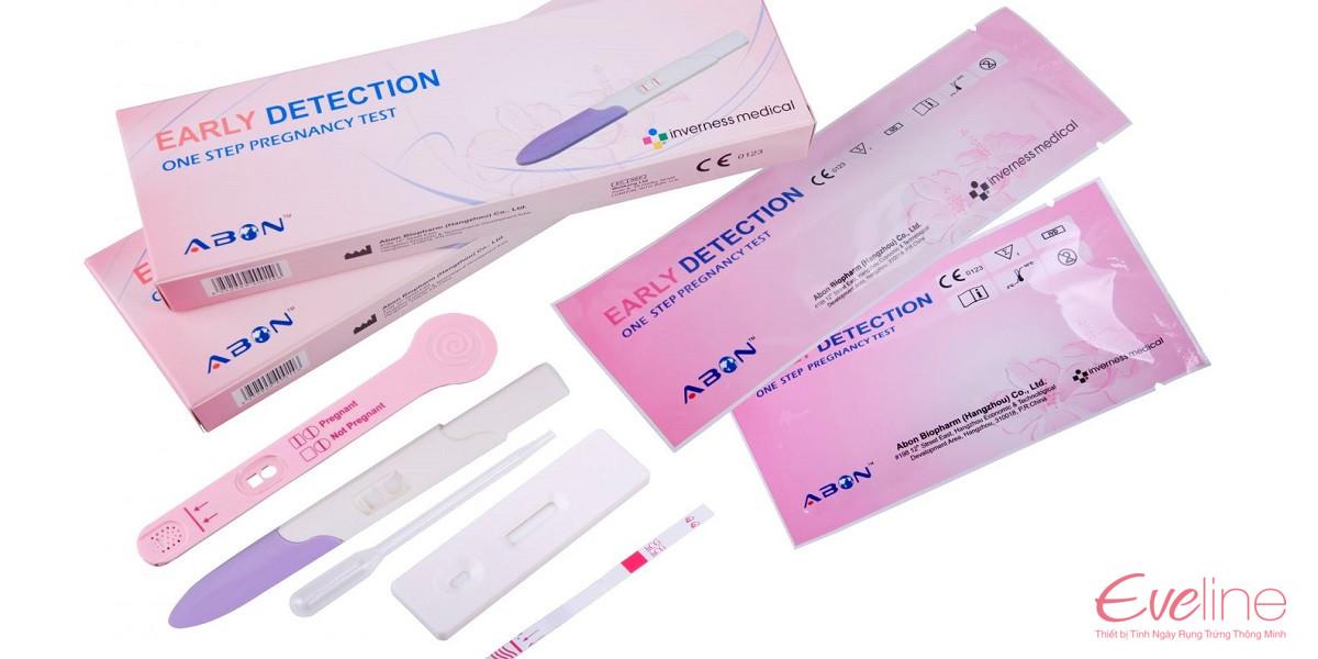Que thử thai điện tử Early Detection sản xuất theo công nghệ Hoa Kỳ