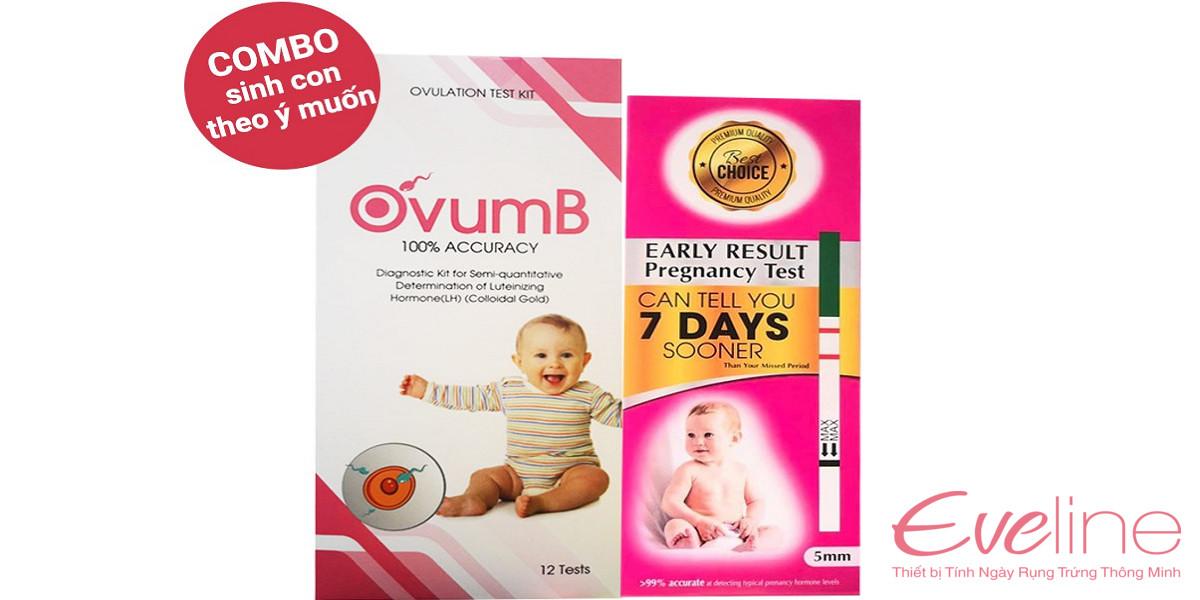 Que thử thai OvumB cho kết quả chính xác trước khi phát hiện trễ kinh
