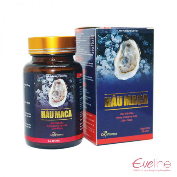 Hàu Maca giúp tăng cường sức khỏe sinh sản nam giới