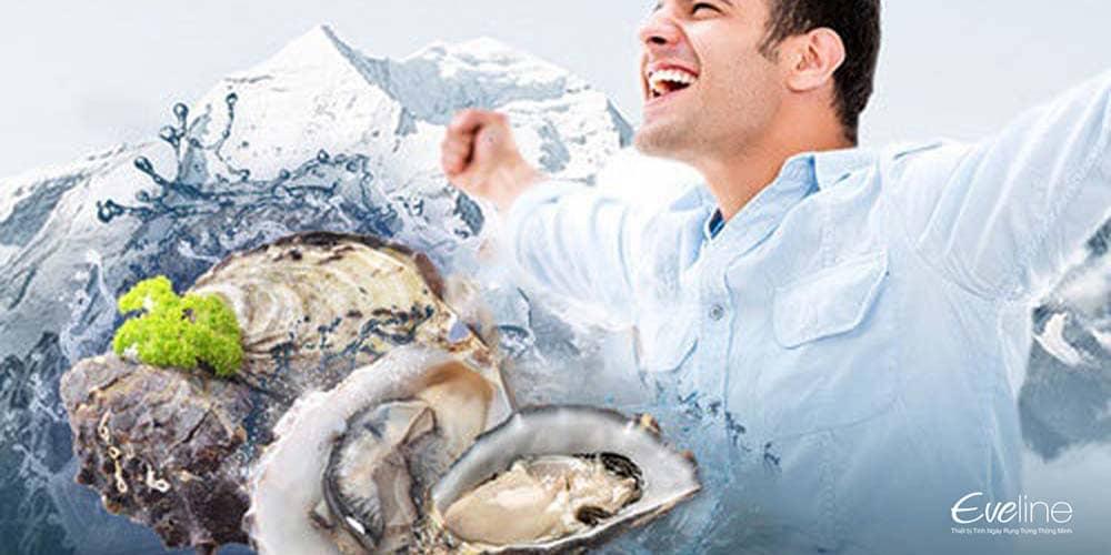 Hàu biển - thực phẩm vàng cho sức khỏe sinh sản của nam giới