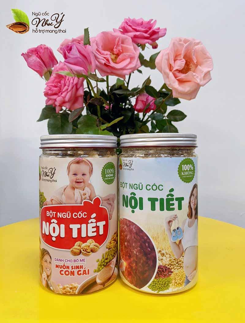 Ngũ cốc Như Ý hỗ trợ sinh con gái