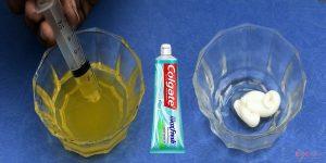 Thử thai bằng kem đánh răng chưa được kiểm chứng về độ chính xác